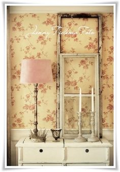Living Room Desk Old Windows Whitewashed Cottage chippy shabby chic French country rustic swedish decor idea