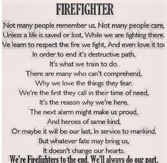 Firefighter quotes, sayings, prayers and chuckles on Pinterest | 119 …