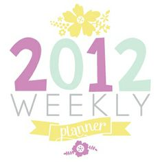 Planner printables , cover and months