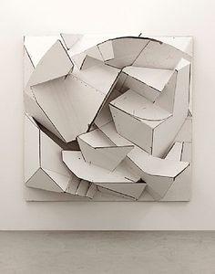 Florian Baudrexel & # 160 ;: SIET, 2012, escultura, papelão, moldura de madeira | Sumally (サ マ リ ー)