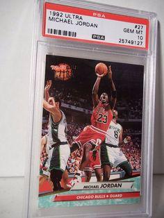 1992 Fleer Ultra Michael Jordan PSA Gem Mint 10 Basketball Card #169 NBA  #ChicagoBulls