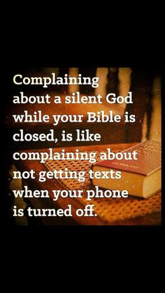 Open your bible and read it!