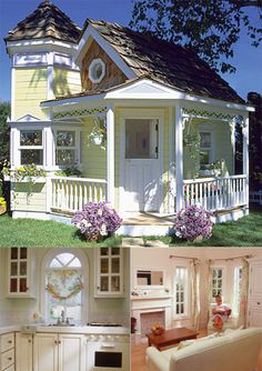 Beautiful cubby house