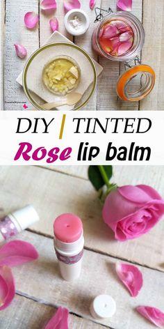 Diy Lip Balm, Tinted Lip Balm, Shea Butter Lip Balm, Lip Balm Recipes, Homemade Deodorant, Homemade Cosmetics, Lip Moisturizer, Facial Cleanser, Homemade Beauty Products