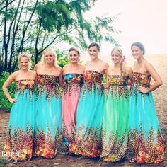 Here ya go girls!  Maybe there is an Ed Hardy or Defye bridesmaid dress line that I missed.
