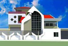 Projet de villa modern a conakry en Guinnee-Design Moderne Africain, Conakry, Albert Kwessi