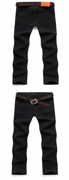 Hot Sale Fashion Casual Slim Straight Designer Denim Hole Ripped Jeans For Men Retail & Wholesale Skinny men summer jeans CHOLYL