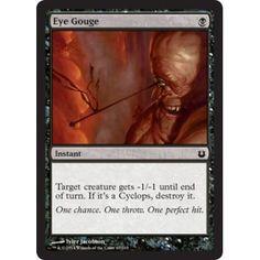 Eye Gouge (foil)