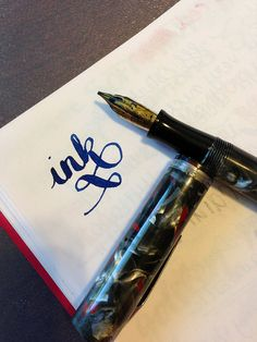 Waterman 94 Music Nib Writing by GourmetPens, via Flickr