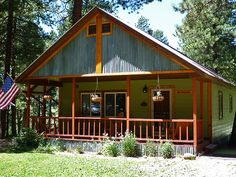 Stayed in this great cabin at the Sportsman's Campground, RV & Mountain Cabins in  Pagosa Springs, Colorado. Will certainly return each summer!!