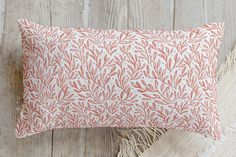 Sweet Leaves and Berries Pillow by Erin McManness | Minted