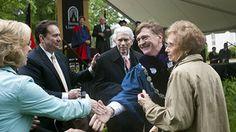 Dick and Phyllis Leet Recieve Honorary Degree