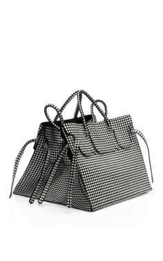 M'O Exclusive: Luxe Leather Rectangular Bag by Slow and Steady Wins the Race - Moda Operandi