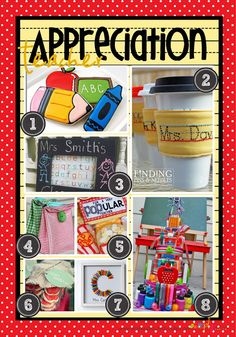 Celebrate your favorite teacher with these cute teacher appreciation week gifts