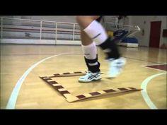 Esercizi di rapidità arti inferiori volley (esercizio 3) - YouTube