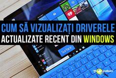 Află cum să vizualizați toate driverele actualizate recent în Windows Microsoft Windows, Windows 10, Periodic Table, Periodic Table Chart, Periotic Table
