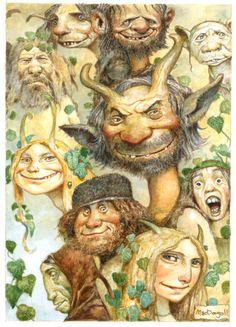 Group of Characters by bridge-troll.deviantart.com