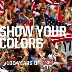 Show Your Colors - USA Soccer World Cup 2014!