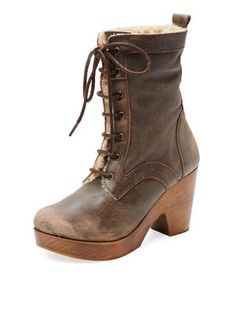 Fiona Lace-Up Blog Boot by Freebird at Gilt