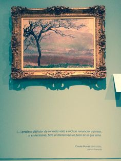 Monet at the Soumaya Museum in Mexico City