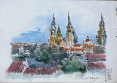 Catédral de Santiago de Compostela...