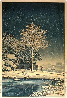 Tsuchiya Koitsu woodblock print