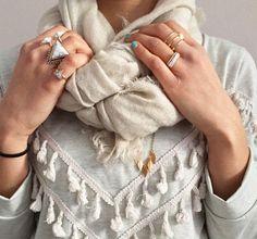 outfitoftheday, outfit, ootd, otd, white style, stylish, fringe, rings, inspiration