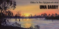 Uma Barry - Featured Artist Homepage Banner