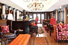 The gorgeous Lighthouse Bar at the Oyster Box - the perfect place to round off the week