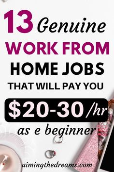 13 genuine online job ideas that can help you make money. - Make Money Ideas Earn Money From Home, Ways To Earn Money, Earn Money Online, Way To Make Money, How To Make, Money Fast, Money Tips, Cash Money, Big Money