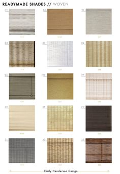 48 Affordable Ready-Made Woven Window Shades To Fit Most Standard Widows