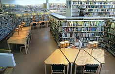 Rovaniemi Library, designed by Alvar Aalto