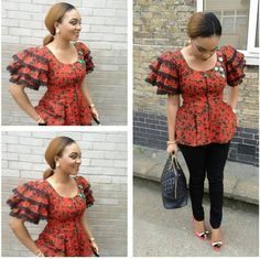 Check out Latest Ankara Styles and dresses >> http://www.dezangozone.com/Loving the African top
