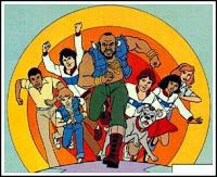 Mr. T Cartoon. On ABC from 1983 - 1986.