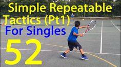 Tennis - Tactics for Singles - YouTube