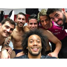 Post-game selfie. #halamadrid I love you team I don't care people don't like this team I love you real Madrid <3 forever <3
