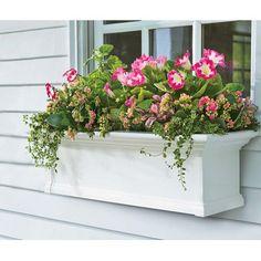 Plow & Hearth Rectangular Window Planter Box & Reviews   Wayfair