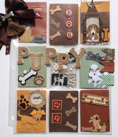 Puppy Pocket Letter with Mini Pocket Letter by Jackie Benedict