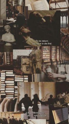 Dark Academia Wallpaper