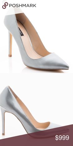 """Heels Gelarah by Shoemint. 1st picture is from online, last 3 are of actual shoe. Some small markings around shoe as pictured, but can only be seen up close and not when wearing. Some wear on the bottom, but still in great shape. Heel measures at 4"""". Leather upper. Shoemint Shoes Heels"""
