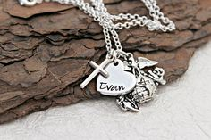 This is a simple and cute way to show your love for your Marine. You can add your Marines name to the small heart pendant that is strung onto the necklace chain. Your necklace will come with the Marines EGA charm and a small cross charm! We carefully hand selected these charms for Marines Girlfriend, Little Bit Of Love, Marine Mom, Small Heart, Necklace Chain, Usmc, Metal Stamping, Hand Stamped, Charms