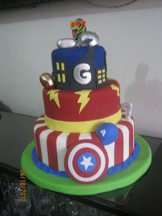 boys birthday cakes images | Avengers cake - Cake Theater