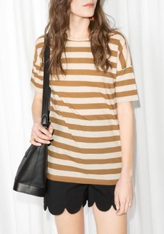 & Other Stories | Striped T-Shirt