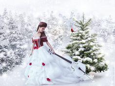 Christmas Song by Phatpuppyart-Studios.deviantart.com on @DeviantArt