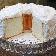 Awesome recipe - Angel Food Cake, A Family Tradition: - Finding Our Way Now My Recipes, Cake Recipes, Dessert Recipes, Favorite Recipes, Angel Food Cake, Take The Cake, Pastry Cake, Dessert Drinks, Food Cakes