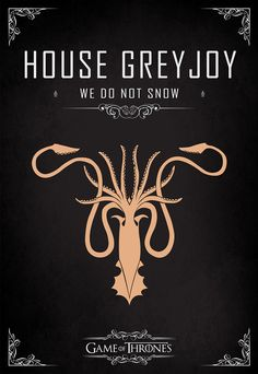 Are you a fan of Game of Thrones? Then you are going to love this amazing Game of Thrones poster series. Game Of Thrones Series, Game Of Thrones Party, Got Game Of Thrones, Game Of Thrones Crests, Casa Greyjoy, Casas Game Of Thrones, Game Of Throne Poster, Geeks, Serie Got