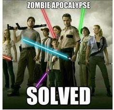 zombie apocalypse solved