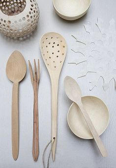 wooden spoons by the style files, via Flickr