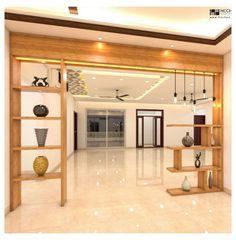 Wooden Partition Design, Living Room Partition Design, Living Room Divider, Pooja Room Door Design, Room Partition Designs, Ceiling Design Living Room, Home Room Design, Home Interior Design, House Design