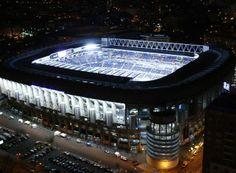 Estadio Bernabeu, home of Real Madrid Soccer Stadium, Football Stadiums, Santiago Bernabeu, The Good Place, Spain, Exterior, World, Design, Madrid Espana
